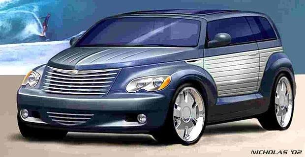 Chrysler California Cruiser (kliknij) /INTERIA.PL