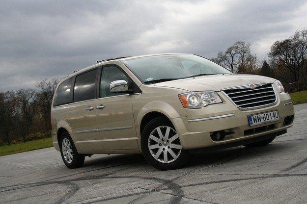 Chrysler grand voyager /INTERIA.PL