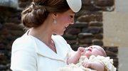 Chrzest małej księżniczki Charlotte
