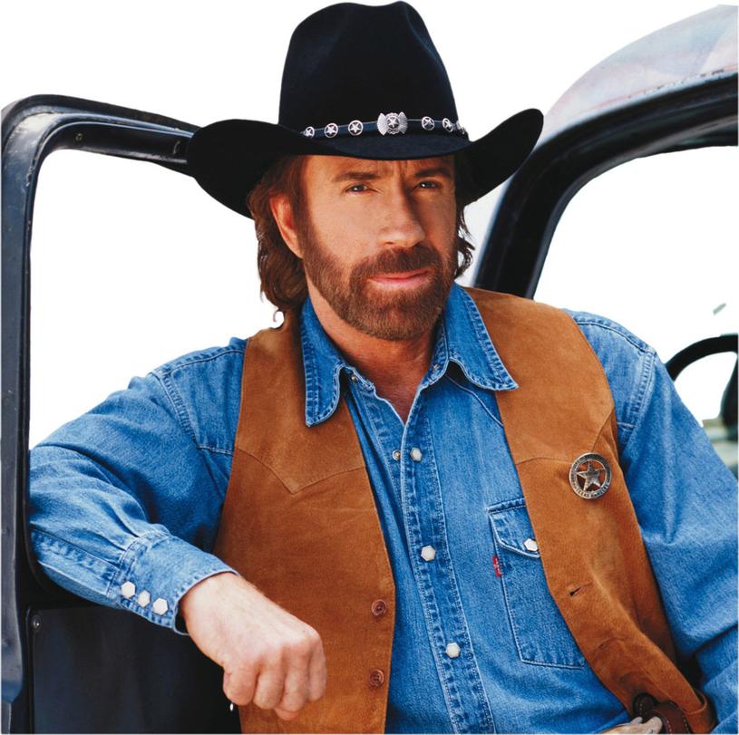 "Chuck Norris jako ""Strażnik Teksasu"" /East News"