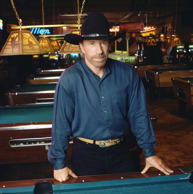 "Chuck Norris w oryginalnym ""Strażniku Teksasu"" /CBS Photo Archive  /Getty Images"