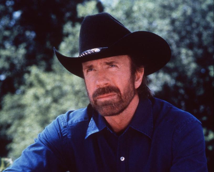 "Chuck Norris w serialu ""Strażnik Teksasu"" /East News"