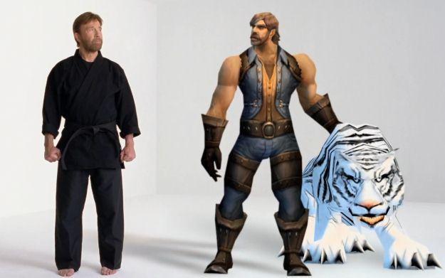 Chuck Norris w świecie World of Warcraft jest hunterem. Hordo, strzeż się! /Informacja prasowa