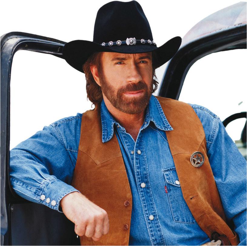 Chuck Norris, zdj. z 1993 roku /East News