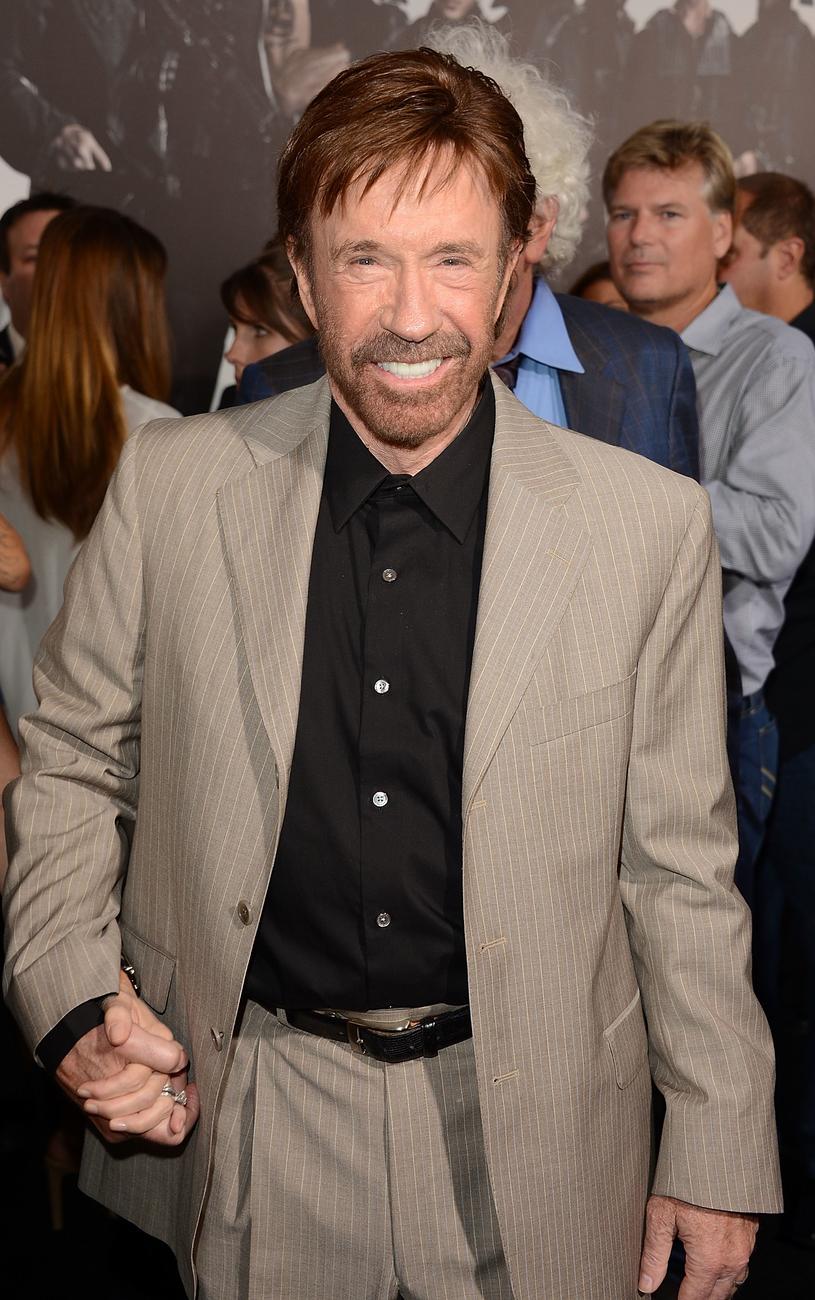 Chuck Norris /Jason Merritt /Getty Images