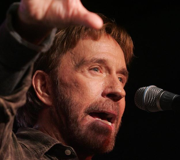 Chuck Norris /AFP