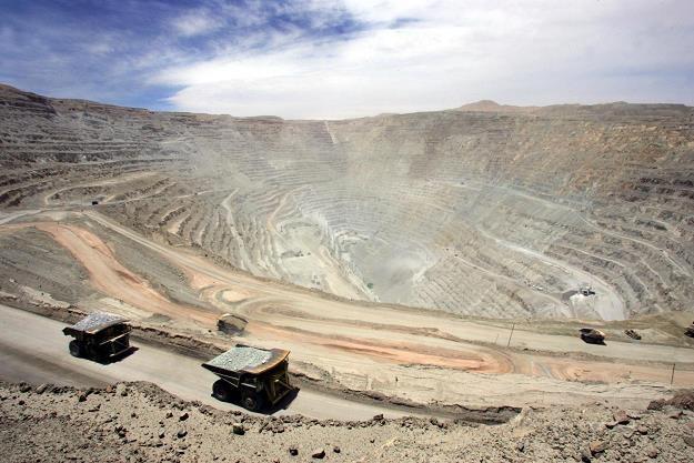 Chuquicamata, odkrywkowa kopalnia miedzi w Chile /AFP