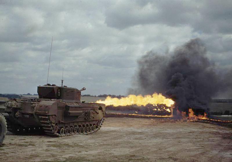 Churchill Mk. IV w akcji /Wikimedia Commons /INTERIA.PL/materiały prasowe