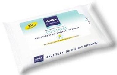 Chusteczki do higieny intymnej NIVEA INTIMO /materiały prasowe
