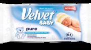 Chusteczki nawilżane dla dzieci Velvet® Baby Pure