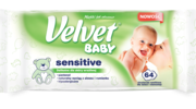 Chusteczki nawilżane dla dzieci Velvet® Baby Sensitive