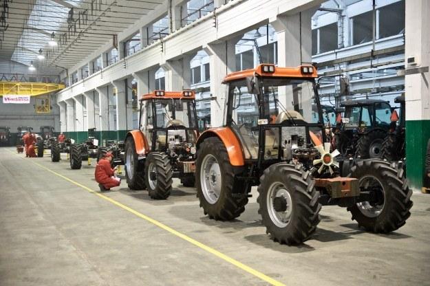 Ciągniki produkowane są w Lublinie /PAP