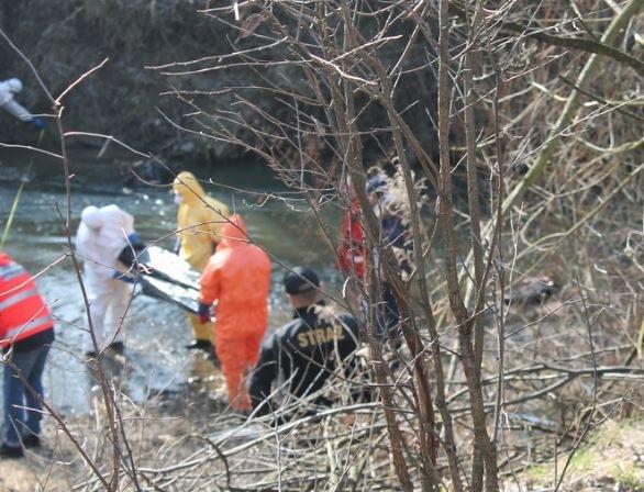 Ciało kobiety wyłowiono w lutym z Uszwicy /foto. Policja /Archiwum RMF FM