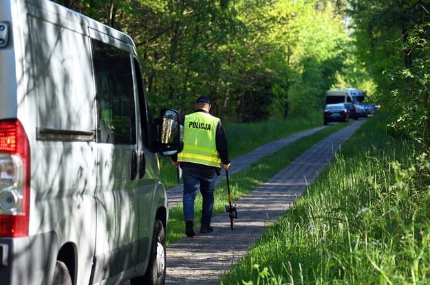 Ciało Magdy znaleziono w lesie / Marcin Bielecki    /PAP
