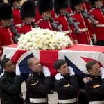 Ciało Margaret Thatcher w krematorium