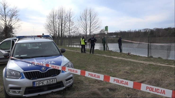 Ciało nastolatki znaleziono w ogrodzonym zbiorniku wodnym /Polsatnews.pl