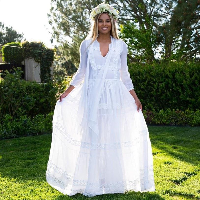 Ciara oczekuje na przyjście swojego drugiego dziecka /Instagram /East News