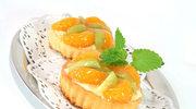 Ciasta z mandarynkami