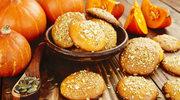 Ciasteczka dyniowe z ciecierzycą