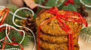 Ciasteczka korzenne z bakaliami