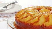 Ciasto cynamonowe z konfiturą gruszkową