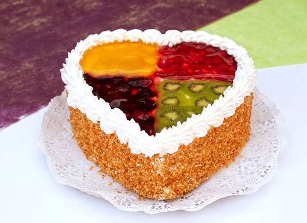 Ciasto cztery kolory /Picsel /123RF/PICSEL