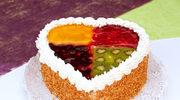 Ciasto cztery kolory