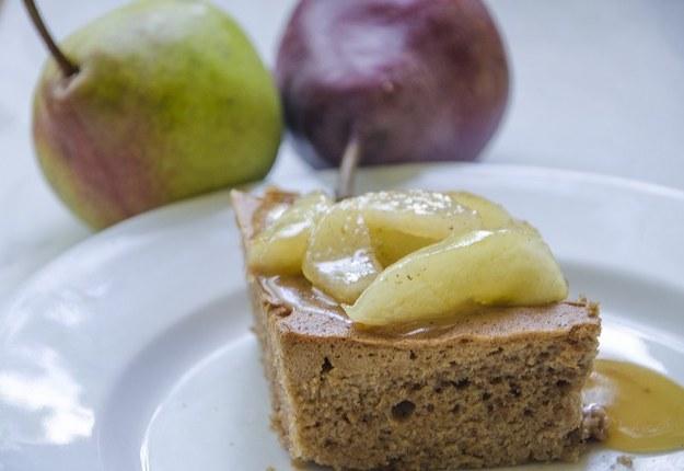 Ciasto kakaowe z polewą gruszkową, fot. Malwina Zaborowska /RMF24