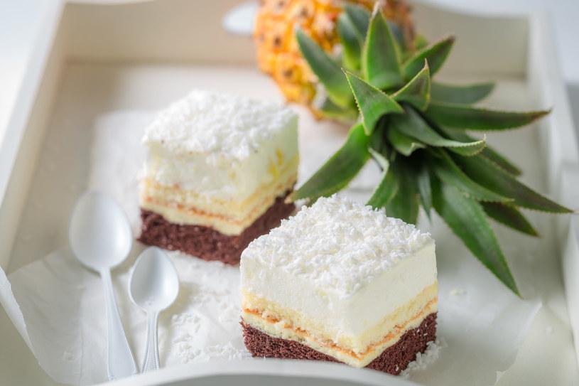 Ciasto kokosowe /materiały prasowe
