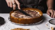 Ciasto marmurkowe z masłem orzechowym