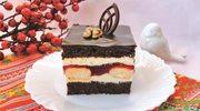 """Ciasto """"Piękny Cygan"""" z czekoladą i makiem"""
