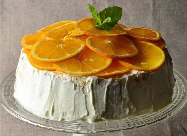 Ciasto pomarańczowe fot. Mariusz Robak /materiały prasowe