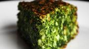 Ciasto szpinakowe cudnie zielone