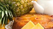 Ciasto upside down z ananasem