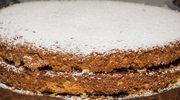 Ciasto z kremem malinowym