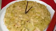 Ciasto z rabarbarem à la Tatin i o dyktaturze w dniu wyborow