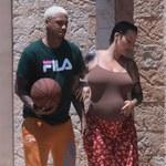 Ciąża daje się we znaki Amber Rose