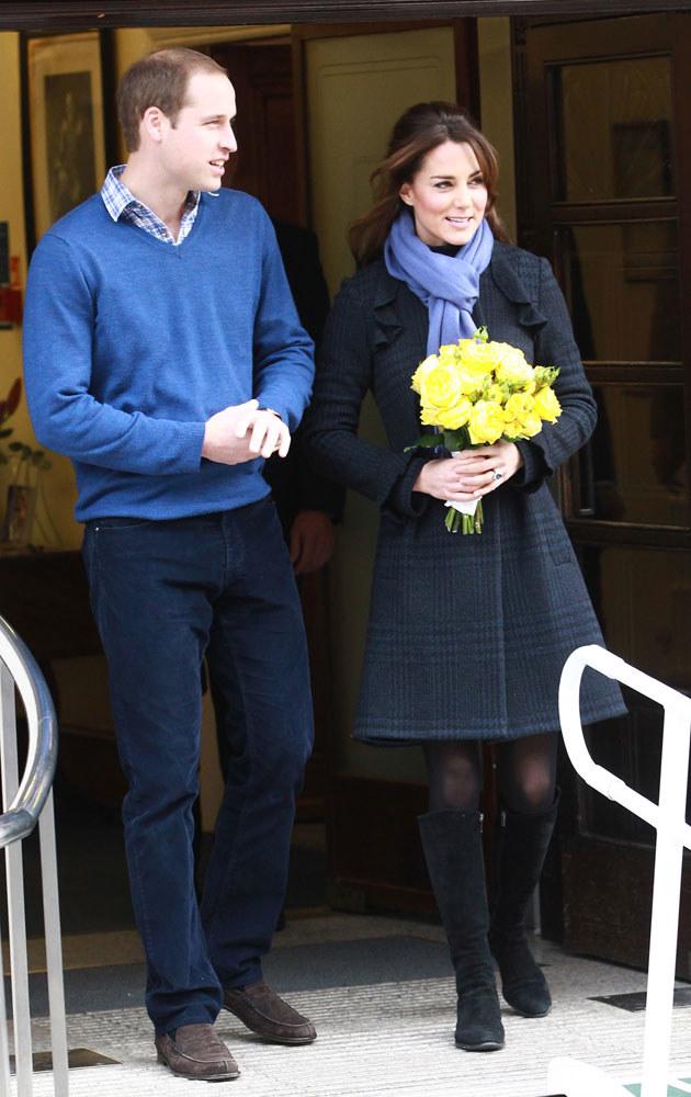 Ciąża księżnej budzi wiele emocji na całym świecie /Fred Duval /Getty Images