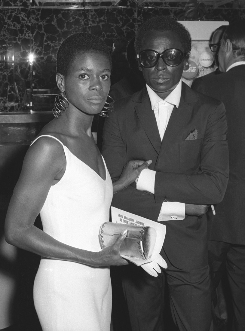Cicely Tyson i MIles Davis / Ron Galella/Ron Galella Collection  /Getty Images