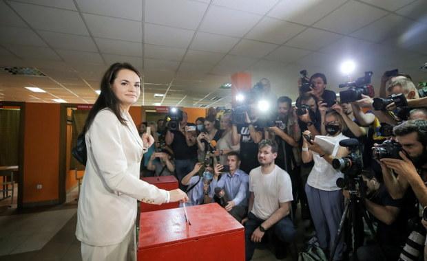 Cichanouska chce unieważnienia wyników wyborów na Białorusi