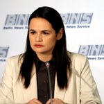 """Cichanouska: Jestem gotowa być """"prezydentem przejściowym"""" do wyborów"""