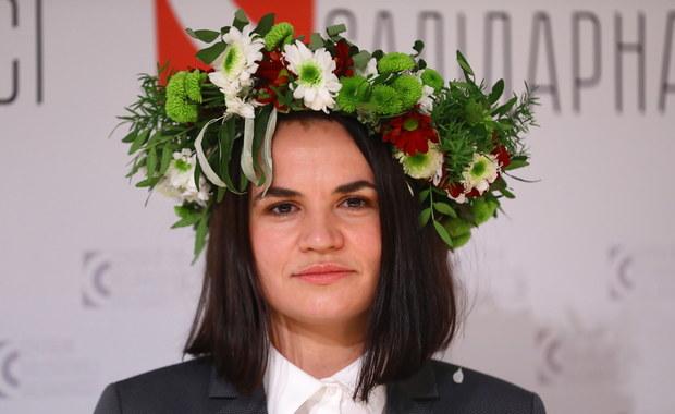Cichanouska w Warszawie: Nie chcemy mieszkać w Polsce kosztem innych
