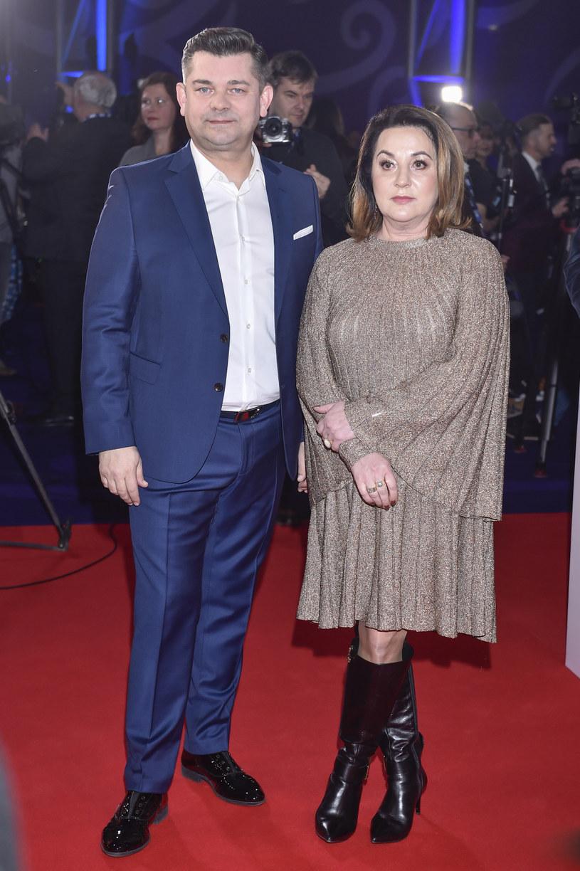 """Ciekawe, czy Zenonowi Martyniukowi i jego żonie podobał się """"Zenek""""? /Kurnikowski /AKPA"""