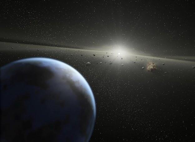 Ciekawe, jak można byłoby nazwać tę asteroidę? /AFP