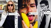 """Cielecka, Ogrodnik, Wojewódzki i inni jedzą banany w obronie sztuki! Dyrektor """"przywraca"""" prace"""
