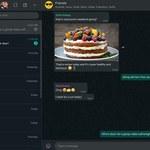 Ciemny tryb WhatsAppa wreszcie na komputerach