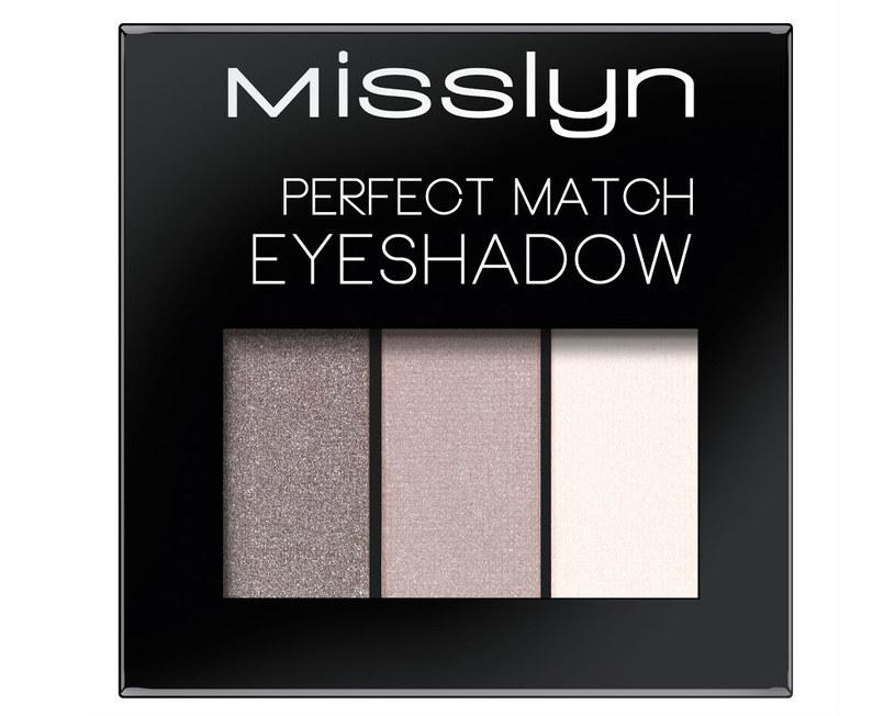 Cienie do powiek Misslyn Perfect Match Eyeshadow /Styl.pl/materiały prasowe