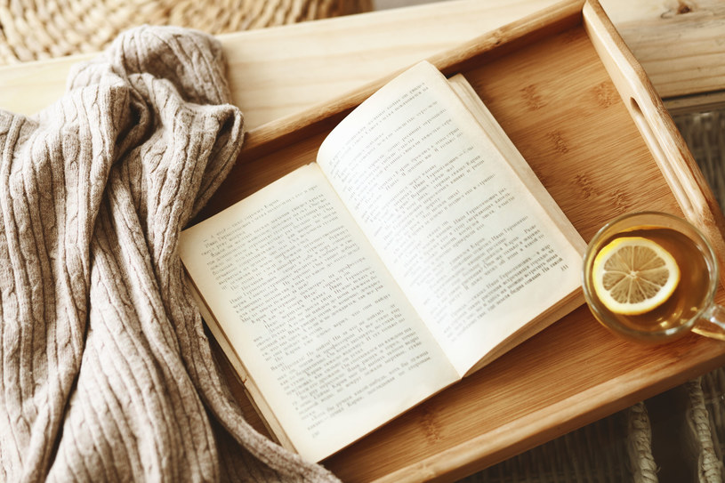 Ciepła herbata, książka oraz koc, umilą oczekiwanie na Boże Narodzenie /123RF/PICSEL