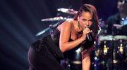Ciężarna Alicia Keys upadła na scenie