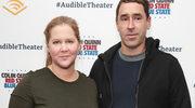 Ciężarna Amy Schumer z mężem na premierze